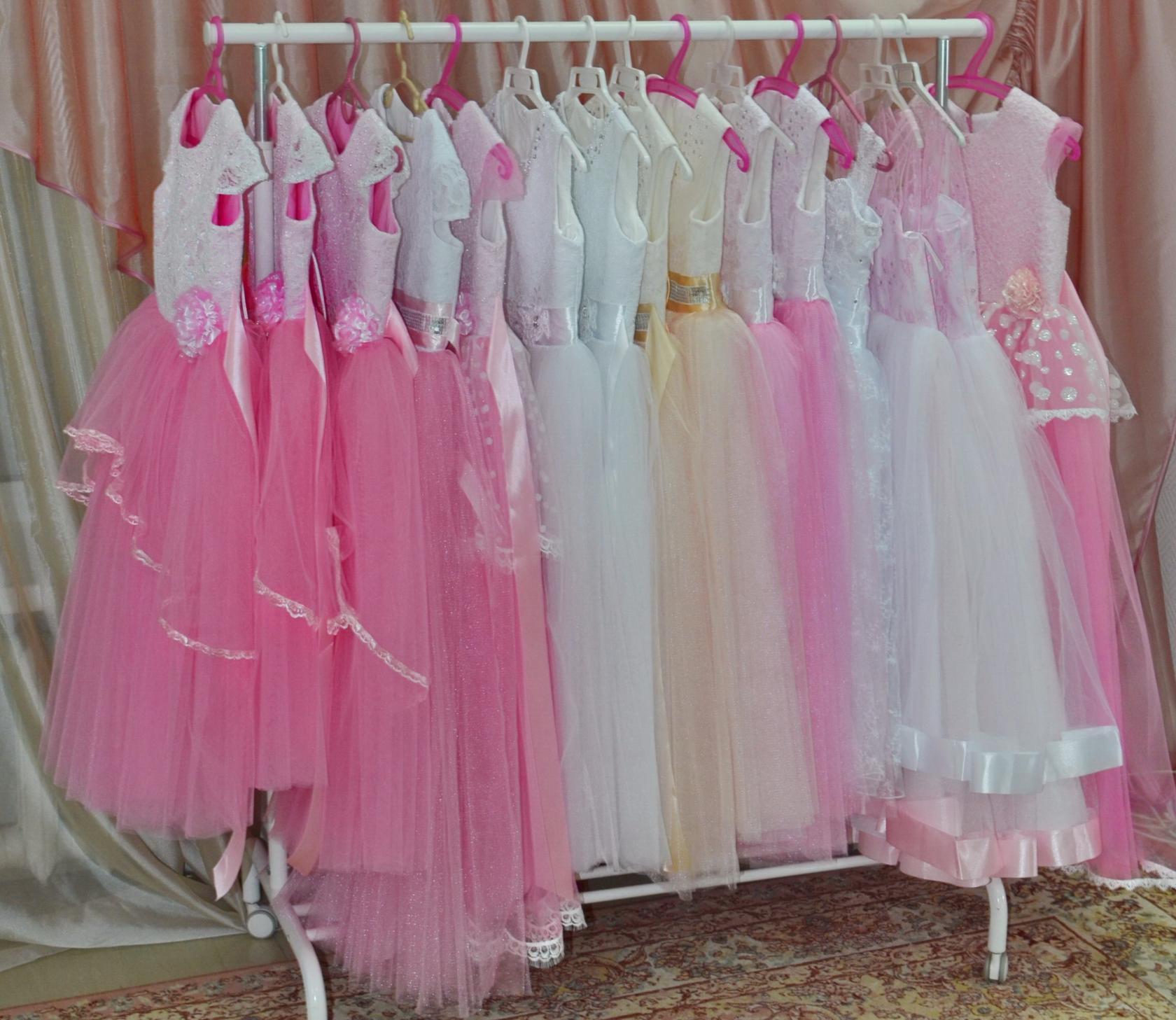 Любимые цвета наших маленьких принцесс!